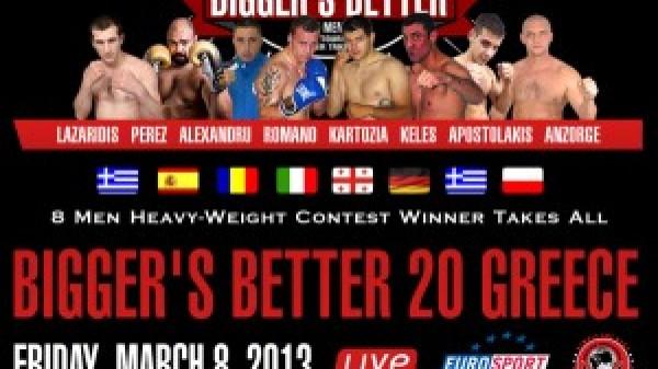 Τα αποτελέσματα του Bigger's Better 20
