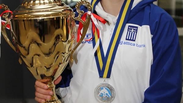 Επέστρεψε η Πρωταθλήτρια Ευρώπης στην πάλη, Μαρία Πρεβολαράκη