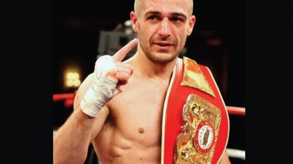 Ο Μιχάλης Αρναούτης στο Fight Academy Korinthos