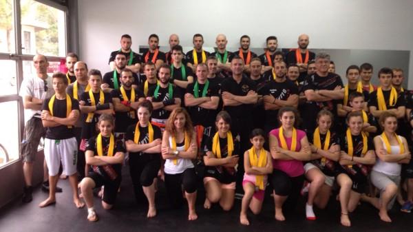 Εξετάσεις έγχρωμων ζωνών σε Fight Club Aspropyrgos, Fight Cub Parnassos και Olympus Gym!!!