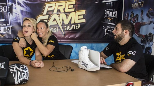 PreGame by Best Fighter 2013: Πανταζή vs Τασίδου