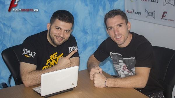 Ο Δημήτρης Τριανταφύλλης στο fightsports.gr αποκλειστικά!