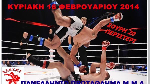 Πανελλήνιο ΜΜΑ και διασυλλογικό Kick Boxing