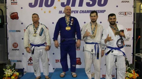 Δύο μετάλλια ο Παυλάκης στο Πανευρωπαϊκό BJJ