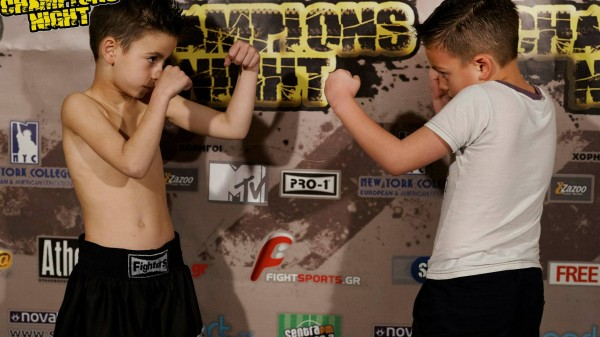Champions Night 26:Ζύγιση (VIDEO)