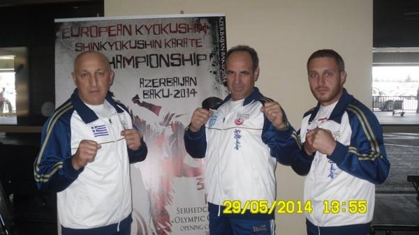 Επέστρεψε η αποστολή από το Πανευρωπαϊκό Πρωτάθλημα SHIN-KYOKUSHINKAI KARATE