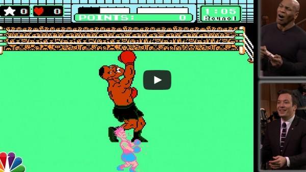 O Mike Tyson τα βάζει με τον… Mike Tyson στο Punch out! (BINTEO)