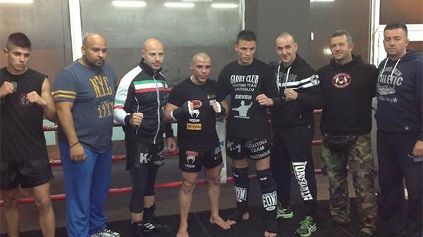 Ο Μιχάλης Ζαμπίδης για σπάρινγκ στο Scorpion Fight Club Περιστερίου