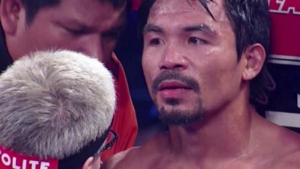 Απάντησε ο Pacquiao στον Mayweather: Με παίρνει ο ύπνος όταν βλέπω τον Floyd!