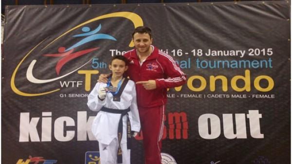 Ασημένιο μετάλλιο για το Fight Club Patras στο Διεθνές τουρνουά G1
