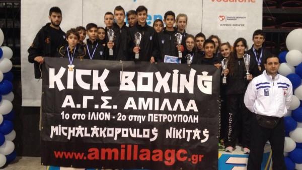 15 στα 15 η MICHALAKOPOULOS Team στο Διεθνές Πρωτάθλημα  «ATHENS CHALLENGE 2015»