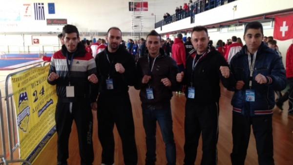 Συμμετοχή στο παγκόσμιο πρωτάθλημα Kyokushin Karate το Kinesis Fight Club