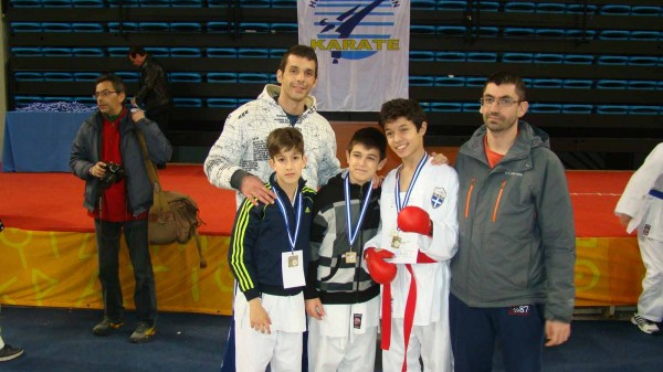 4 μετάλλια και πολλές εμπειρίες για τον «Δρόμο της Ειρήνης» στο Πανελλήνιο