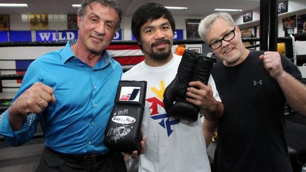 O Rocky Balboa επιλέγει Manny Pacquiao!