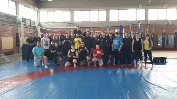 Το Warriors Camp σε σεμινάριο αυτοάμυνας στην Λάρισα