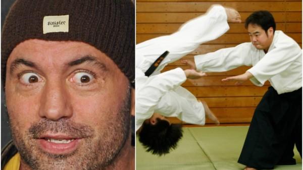 Ο Joe Rogan έκραξε το Aikido