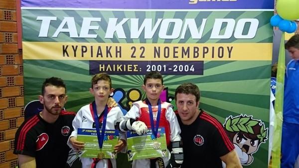 Δυναμική εμφάνιση για το Fight Club Patras στο 3o Friendship Games Kids