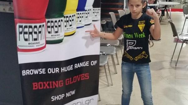 Γάντια Persani φορά η Άννα Μαρία TheGun