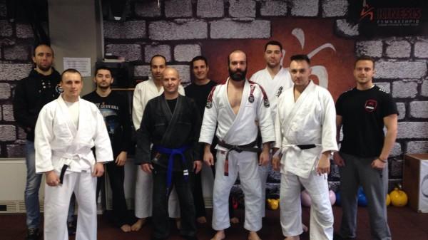 Σεμινάριο Brazilian Jiu Jitsu πραγματοποιήθηκε στο Kinesis Fight Club