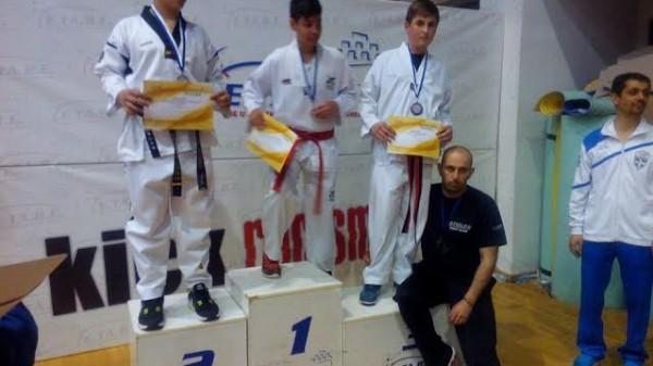 Ο Άθλος Κιλκίς με μετάλλια στο πρώτο προκριματικό πρωτάθλημα ΤΑΕΚΒΟΝΤΟ της ΕΤΑΒΕ