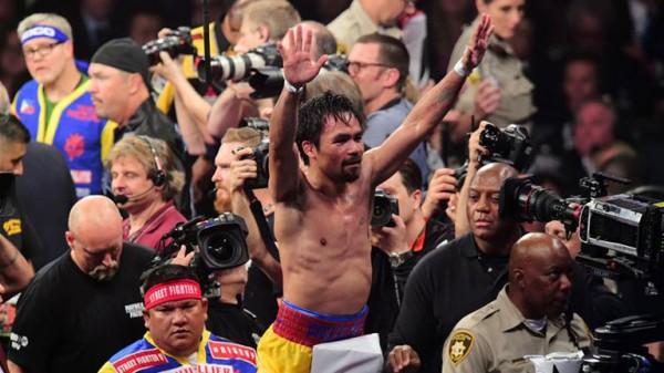 Pacquiao: Επιλέγω τον Thurman επειδή είναι ο καλύτερος διαθέσιμος welterweight