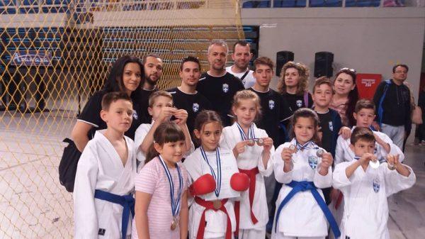 Δυναμική παρουσία του «ΑΘΛΟΥ ΠΕΡΙΣΤΕΡΙΟΥ» στο Πανελλήνιο Κύπελλο Shito Ryu Karate