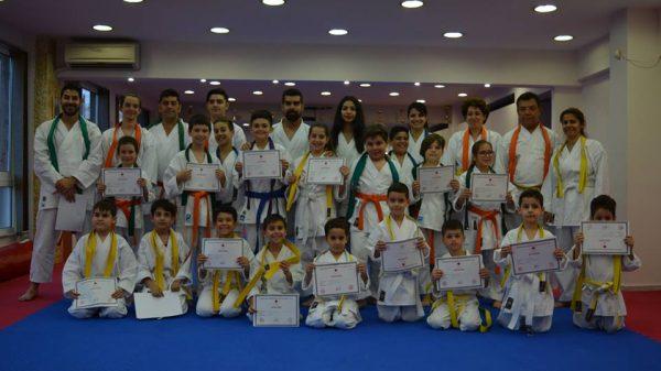 Με επιτυχία οι εξετάσεις στο Karate Peiraias