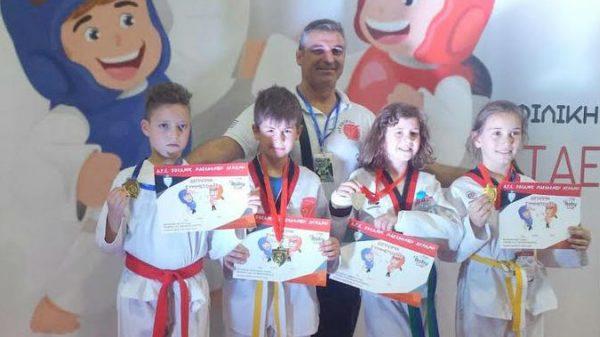 Στο  4ο Baby Cup οι μικροί αθλητές-τριες του Αθλ. Αγων. Συλ. Ταεκβοντό Καρδίτσας
