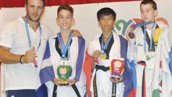 Με μετάλλια από την Κίνα ο Fight Club Πάτρας!