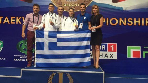 Χρυσό μετάλλιο η Κοντού στο Ευρωπαϊκό U21, δεύτερος ο Χαμαλίδης