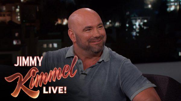 Ο Dana White στον Jimmy Kimmel! (BINTEO)