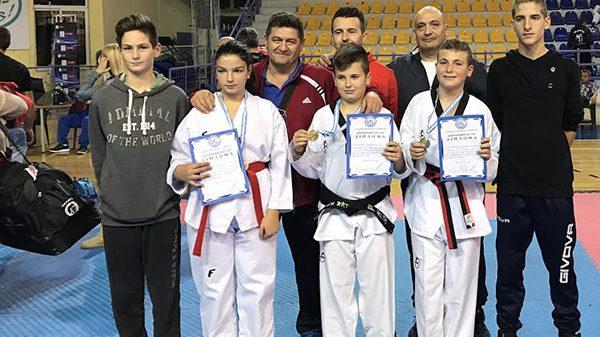 Τέσσερα μετάλλια για την Τόλμη Κιλκίς στο Πανελλήνιο TKD WTF