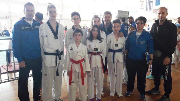 O Α.Σ. Η Τόλμη Κιλκίς στο 3o Προκριματικό πρωτάθλημα Taekwondo WTF
