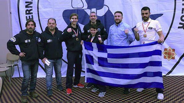 Τρίτη θέση για Μουστάκη στο Πανευρωπαϊκό Open Muay Thai Cup της IFMA