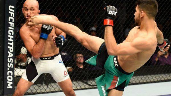 Ματσάρα Yair με Frankie Edgar στο UFC!