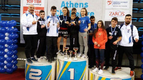 12 μετάλλια για τον Α.Σ Ευρυτανίας (Zarmakoupis Team) στο «Athens Challenge»