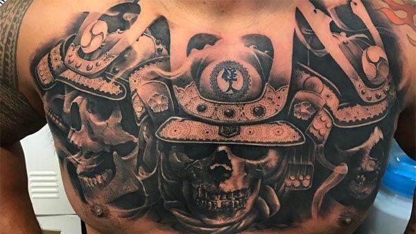 Επικό τατουάζ από τον Mark Hunt! (ΦΩΤΟ)