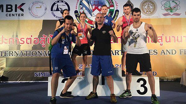 Οκτώ μετάλλια στο παγκόσμιο πρωτάθλημα Muay thai για το  Pliakos Muay Thai Camp