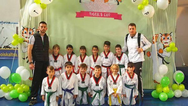 Οι μικροί αθλητές του Fight Club Patras στο Tiger's Cup