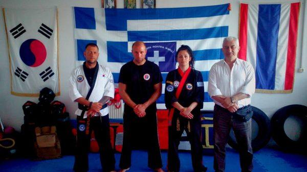 Eπαναπιστοποίηση εκπαιδευτών στο Combat Hapkido