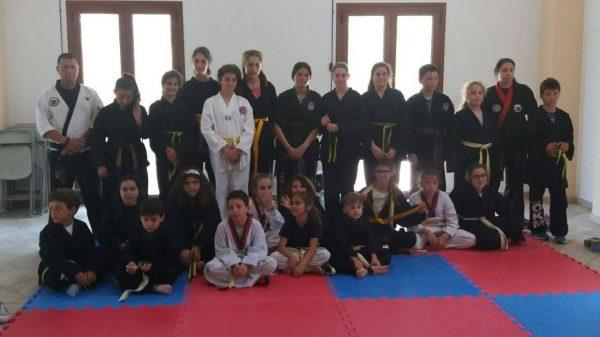 Εξετάσεις Combat Hapkido και Thai- kickboxing στην Ικαρία