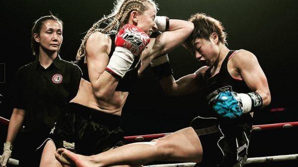 Με την Kat Paton η Tσοβγκάν στο Muay Thai Grand Prix (ΒΙΝΤΕΟ)
