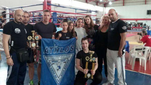 Athlos Fight Club: Σε αγώνες kickboxing η ομάδα από το Κιλκίς