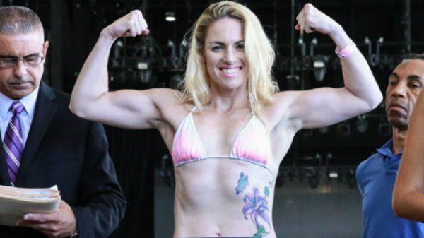 Έτοιμη για το ντεμπούτο της στις ΜΜΑ η σέξι Heather (PHOTO)