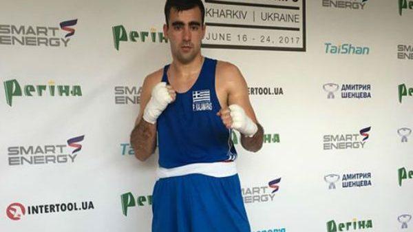 Ήττα για Καλαμάρα στο European Union Boxing Championships