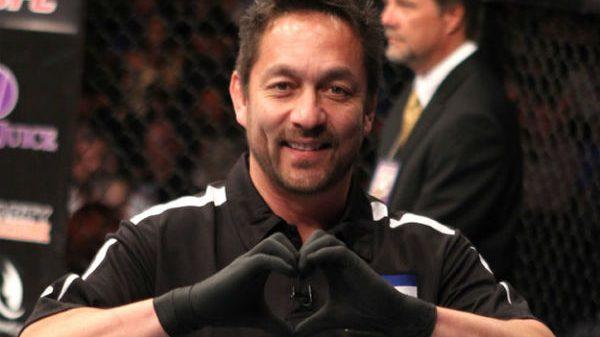 Ο Yamasaki δεν θα είναι ξανά διαιτητής σε αγώνα UFC