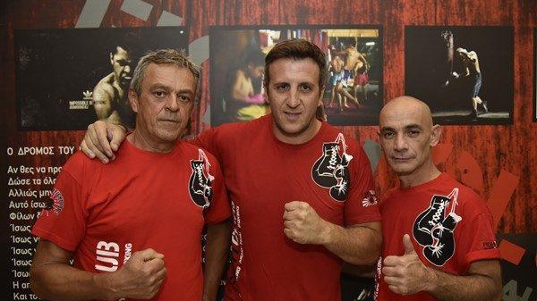 Ντεμπούτο σε παιδικά τμήματα ερασιτεχνικής πυγμαχίας στο Fight Club Πάτρας