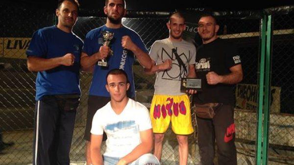 Νίκη για Νίκος Αστέρη του Α.Σ Κένταυρος στο Corinthian Pro MMA