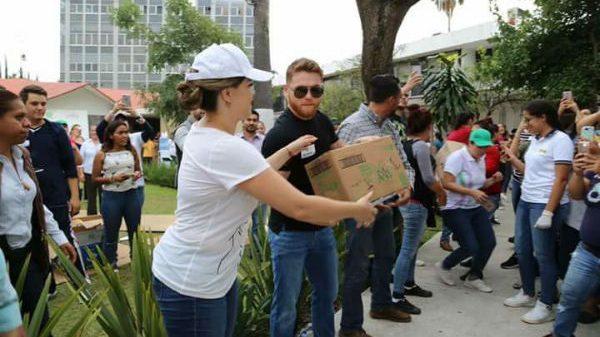 Τεράστιος Canelo! Δώρισε 1.000.000 δολάρια στους σεισμοπαθείς του Μεξικού