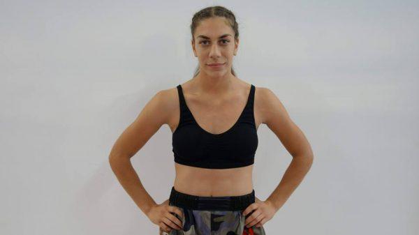 Η 16χρονη Ελένη Μυτιλινάκη μπαίνει στο κλουβί του Cage Survivor